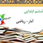 گزارش درس پژوهی پایه ششم